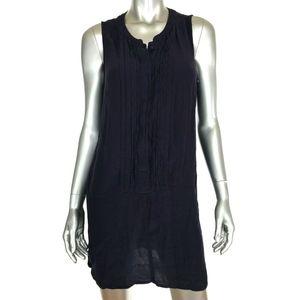 Gap Factory Sleeveless Pintuck Shift Dress Small